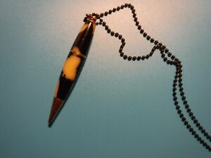 1930's Golf Pencil, Unmarked, with pendant black ball chain