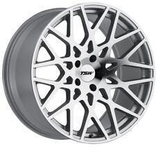17x8 TSW Vale 5x112 +32 Silver Rims Fits Audi A4 1994-2000