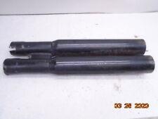 1999 99 Yamaha Vstar V-Star XVS1100 XVS 1100 Custom exhaust tail pipes mufflers