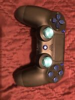 Official Sony PlayStation 4 PS4 Dualshock 4 Wireless Controller (Custom Blue)