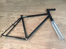 "Actiontec Mountain Bike Frame Frameset Headshok Made In USA Steel Black 19"" 26"""