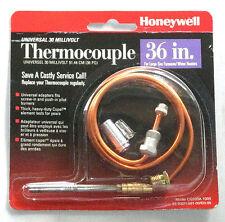 "Honeywell CQ100A1005 Thermocouple 36"" Universal, 30 Millivolt, heater, furnace"