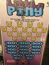 Pull Tabs! Little Pony! Massive Profit $800