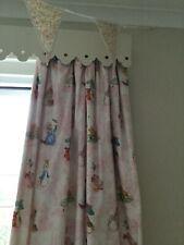 Jane Churchill Beatrix Potter Curtains and Pelmet