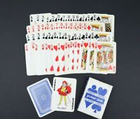 Poker Size Playing Cards Plastic Coated Complete Set