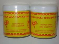 2-PACK)) POMADA DE ARNICA 100%NATURAL FOR CRAMPS-BRUISES- ARTHRITIST-CONTUSSIONS