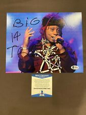 BECKETT COA! TRIPPIE REDD Signed Autographed 8x10 Photo LOVE LETTER Rapper