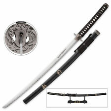 "41-1/4"" Last Samurai Japanese Katana Sword Ninja Blade Tang Machete Carbon Steel"