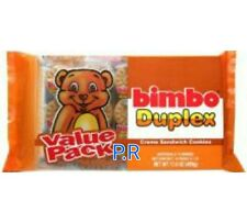 Bimbo Duplex Cream Sandwich Cookies Galletas Candy Sweets Puerto Rico (2) pack