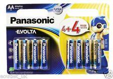 Panasonic Evolta AA / LR6 AA Batteria Alcalina (Pacco da 8) NUOVISSIMO BATTERIE