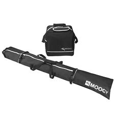 Skis and Boot Storage Bag Holder Combo Padded Waterproof Travel Large Capacity