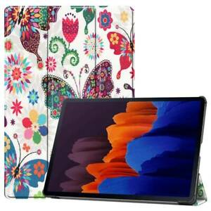 """For Samsung Galaxy Tab S7 plus 12.4"""" T970 11 T870 Smart Leather Stand Case Cover"""