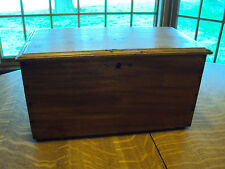 FABULOUS ANTIQUE SALESMAN'S SAMPLE  CHEST WITH HIDDEN COMPARTMENT