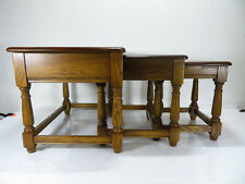 Ercol - Nest Of Tables - Golden Dawn - Coffee Side Table - 3 Tables - #1702