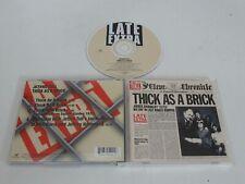 JETHRO TULL/THICK AS A BRICK(CHRYSALIS 7243 495400 26) CD ALBUM