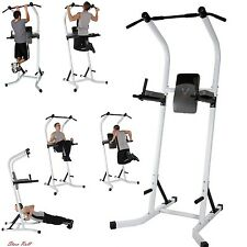 Power Tower Exercise Equipment Workout Body Pull Up Station Dip Stand Training