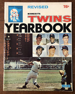 1969 Minnesota Twins Team Yearbook Revised 64 Pages MLB Baseball Yearbook