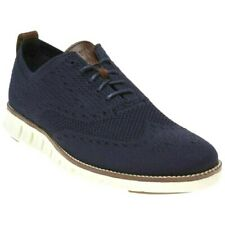 New ColeHaan ZEROGRAND STITCHLITE Men's Blue TEXTILE Shoes  C24947