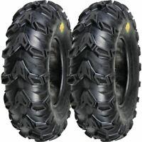 2 NEW 24x8-12 ATV MUD REBEL TIRES 24 8 12 Tire Sedona 24x8x12