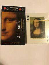 Rare Sealed Piatnik 'Art Pack' The Bridgeman Art Library Playing Cards Year 2000
