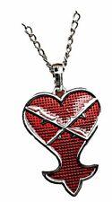 Kingdom Hearts Heartless Logo Metal Pendant Necklace