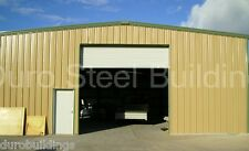 "DuroBEAM Steel 50x80x16 Metal Building Workshop Structure ""As Seen on TV"" DiRECT"