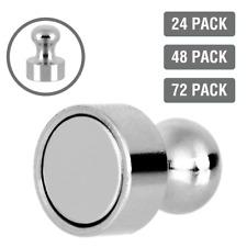 24x-72x Neodym Magnete Mini Pinnwand Magnet Küche Notenständer Kegelmagnete