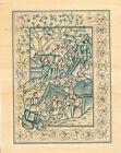 Indian Persian Art Village Haat Handmade Miniature Islamic Art Painting On Cloth