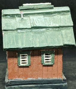 Old Time Shack Shed, Depot : VINTAGE Custom WOODEN / Decorated HO Scale Building