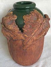 New ListingTerrafirma Ceramics Ellen Evans Twig and Leaves Vase Signed 1983
