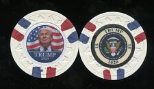 $1 DONALD TRUMP 2020 CHIP 45TH PRESIDENT LTD 50 out side of 150 SETS FREE SHIP