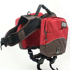 Outward Hound Kyjen Excursion DogHiking Backpack Saddle Bag XL 80-90 lbs