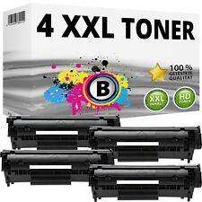 4x TONER HP für LaserJet 1010 1012 1015 1018 1022nw 3015 3020 AIO Q2612A 12A