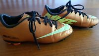 Youth Size 4 Nike Mercurial Football Boots  (23cm inside)