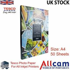 Single Pack: Tesco Value Glossy Photo Paper A4 (210x297 mm) 190 g/m2 - 50 sheets