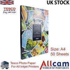 Confezione Singola: Tesco Value Carta Lucida Per Foto A4 210x297 mm 190 g/m2