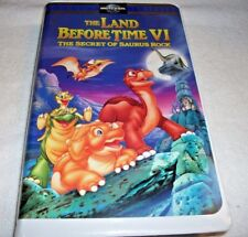 The Land Before Time VI: The Secret of Saurus Rock (VHS, 1998, Clamshell Release