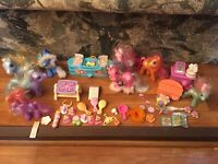 My Little Pony Lot Figures Accessories Cotton Candy, Mittens Snowflake G3 Hasbro