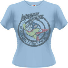 Mighty Mouse - Save The Day T-Shirt Femme / Ladies - Taille / Size L