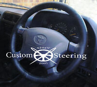 Pour 96-12 Toyota 4RUNNER Hilux Vrai Housse Volant Cuir Double Point