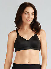 Pocketed Mastectomy Bra 'Magdalena' by Amoena - Non-Wired Soft Cup Bra - BLACK