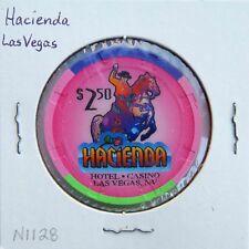 Vintage $2.50 chip from the Hacienda Casino (1995) Las Vegas