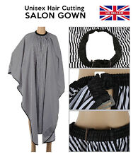 Gown Barber Waterproof Salon Hair Cutting Cape Hairdressing Hairdresser Cloth UK