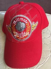 Ultimate Fighter Embroidered Fist Baseball Cap Hat Adjustable One Sz Fits All