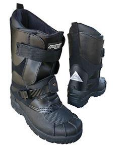 Joe Rocket Snowmobile Snow Boots Black Choose Your Size