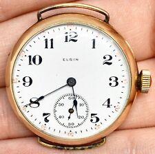 WW1 Era 10k GF Elgin Trench Watch