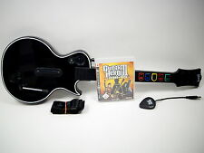 Playstation 3 PS3 Spiel Guitar Hero 3 Legends of Rock + Gitarre schwarz ~3883