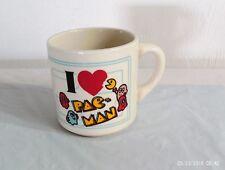 VINTAGE 1980'S PACMAN MS PACMAN  *** ENGLAND CUP  ***    VERY RARE !!!