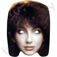 Kate Bush Celebrity Card Mask - 1980's Singer Mask. All Our Masks Are Pre-Cut!