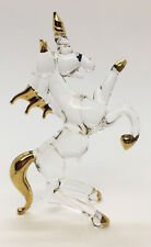 Unicorn horse Blown Glass Blowing Art Animal Hand Cute Fancy Collectibles